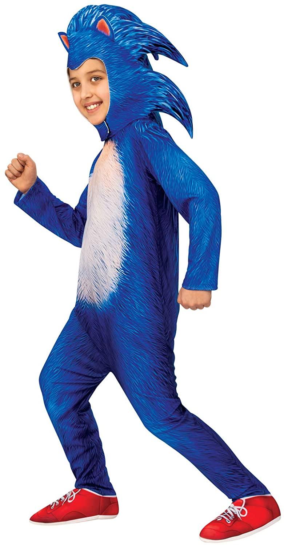 Sonic The Hedgehog Boys Deluxe Movie Costume