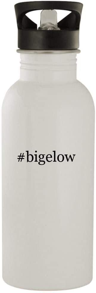 #bigelow - 20oz Stainless Steel Water Bottle, White