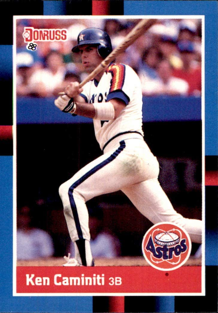 1988 Donruss #308 Ken Caminiti RC RIP HOUSTON ASTROS ROOKIE MLB Baseball Trading Card (Sku7JLa)
