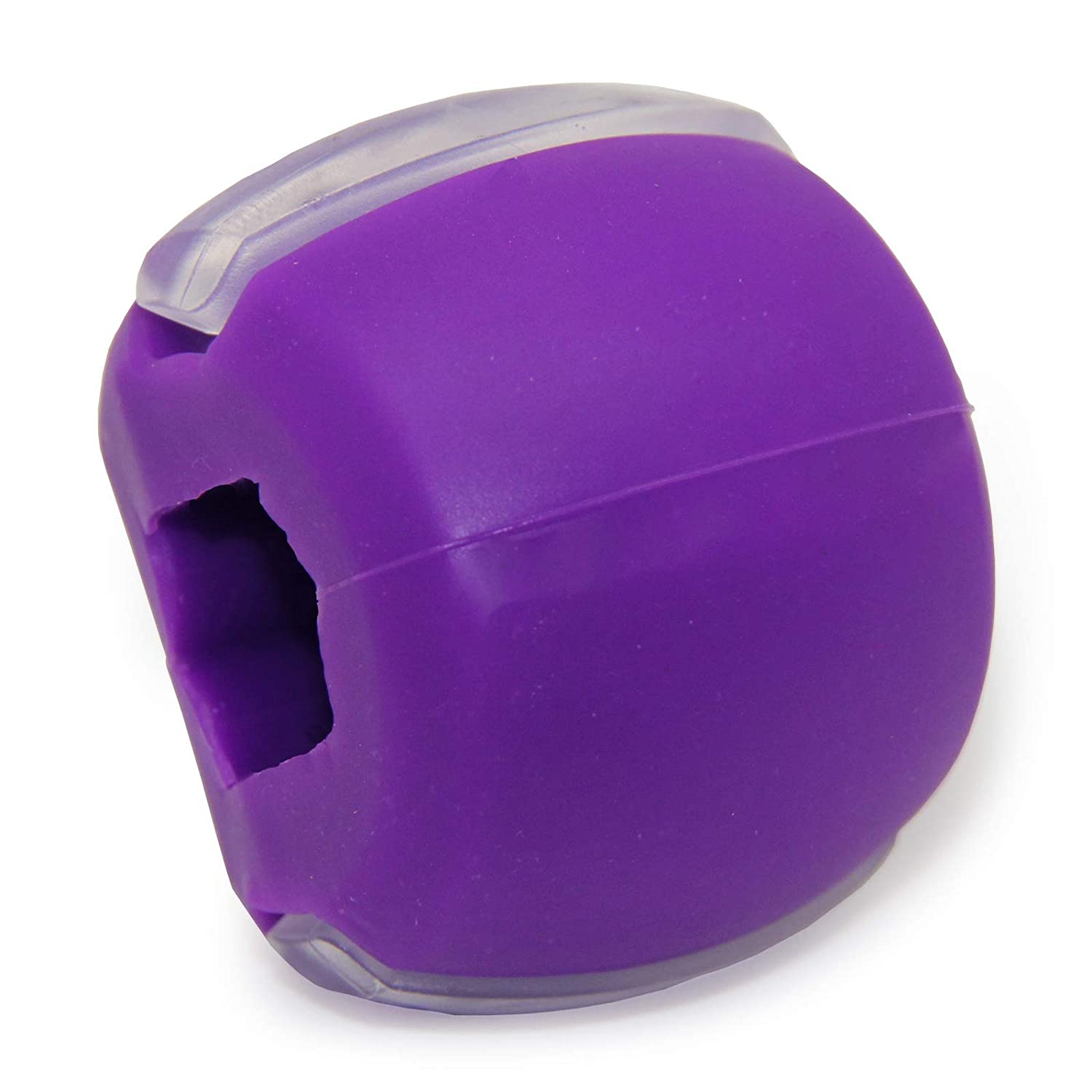 KLYJI Jaw Face Exerciser Ball Define Your Jawline Facial Neck Chin Exercise (Purple)