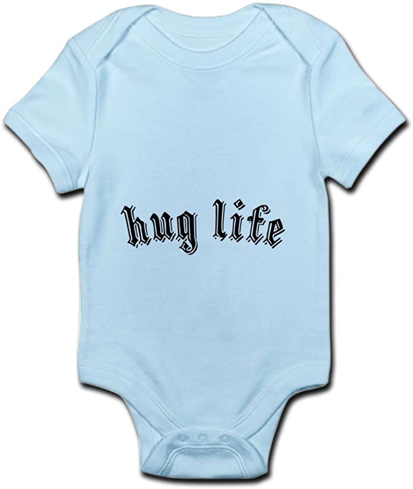 CafePress Hug Life Cute Infant Bodysuit Baby Romper