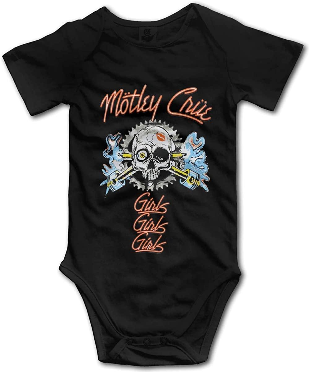 Motley Crue Spark Plug Leisure Baby Jersey Bodysuit