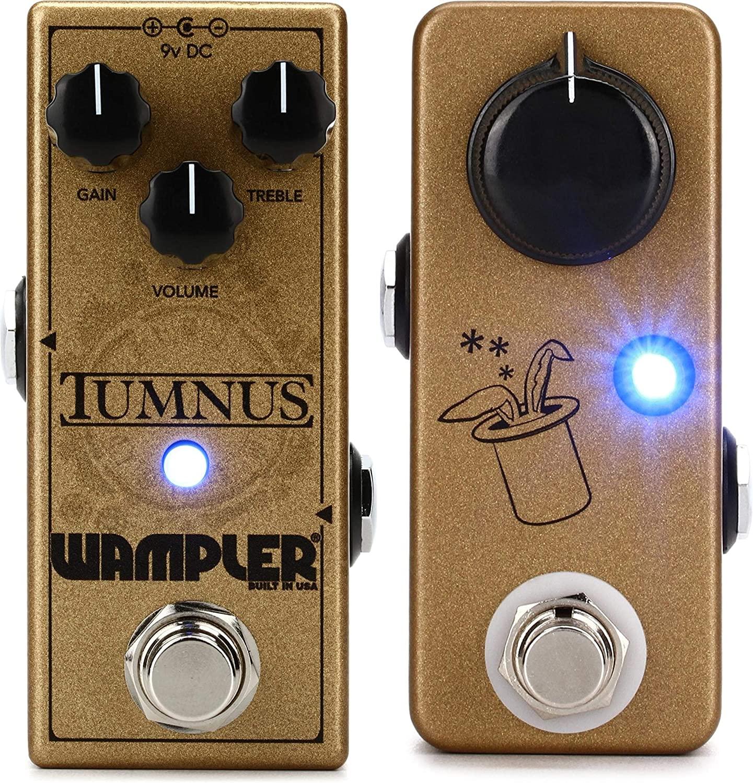 Wampler Tumnus Transparent Overdrive Pedal + JHS Prestige Buffer/Booster Pedal Value Bundle