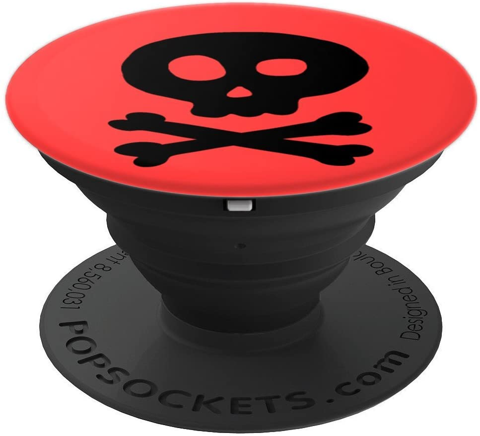 Jolly Roger Skull PopSockets Grip and Stand for Phones and Tablets