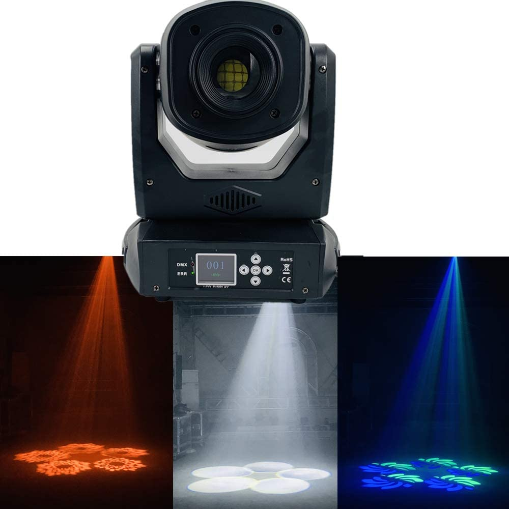 120W LED mini moving heads Beam Spot Wash 3in1 zoom gobo 5 Rotating prism super bright Light dj bar Show disco light