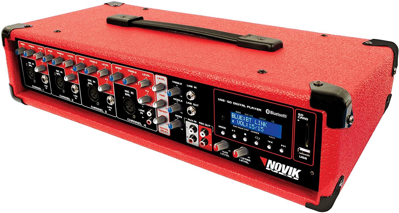 NOVIK NEO MIXER NVK 4300-BT   4 Channel Powered Mixer