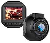 Mini Dash Cam,1080P Full HD Dashboard Video Recorder for Car Camera with Sony Sensor, Dash Camera for Cars Enhanced Super Night Vision,170°Wide Angle,Support 128GB Memory Card