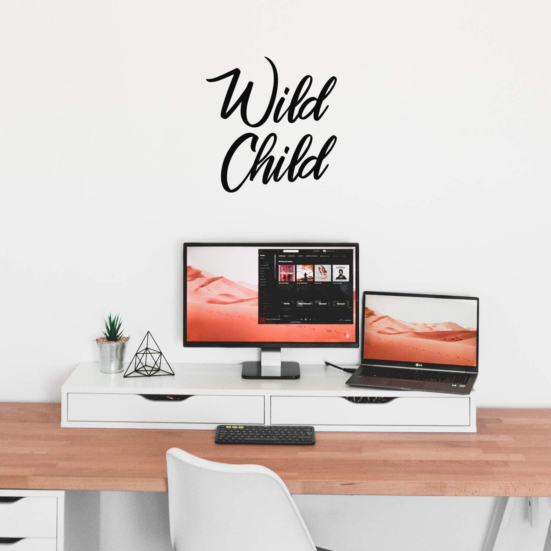 Vinyl Wall Art Decal - Wild Child - 24