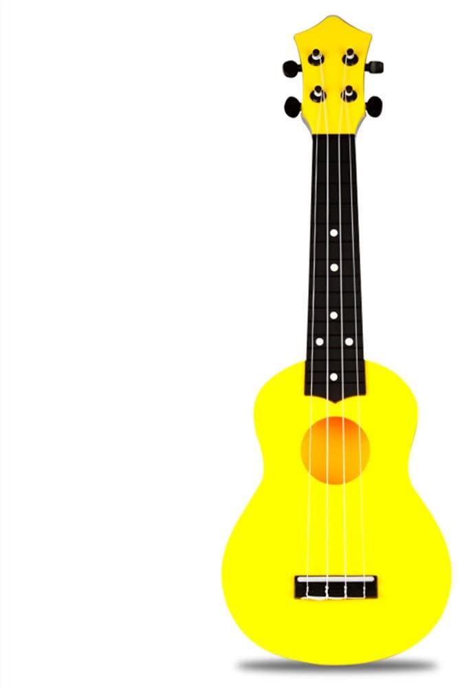 Ukulele Musical Instrument (21 inch, Yellow)