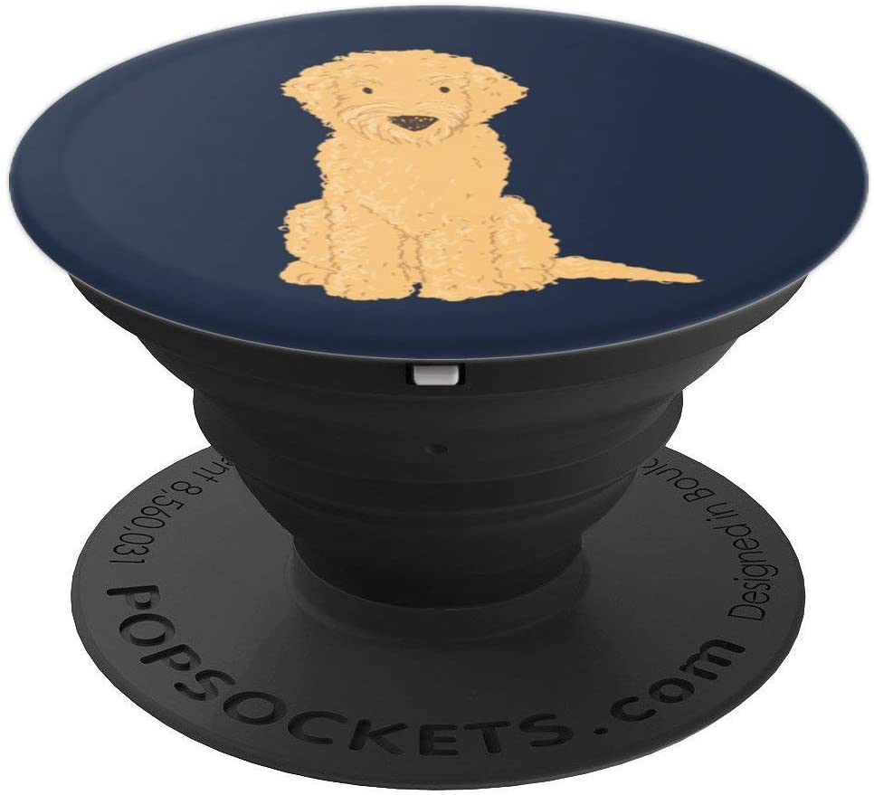 Trendy Cute & Unique Labradoodle Dog Lover PACJ1641 PopSockets Grip and Stand for Phones and Tablets