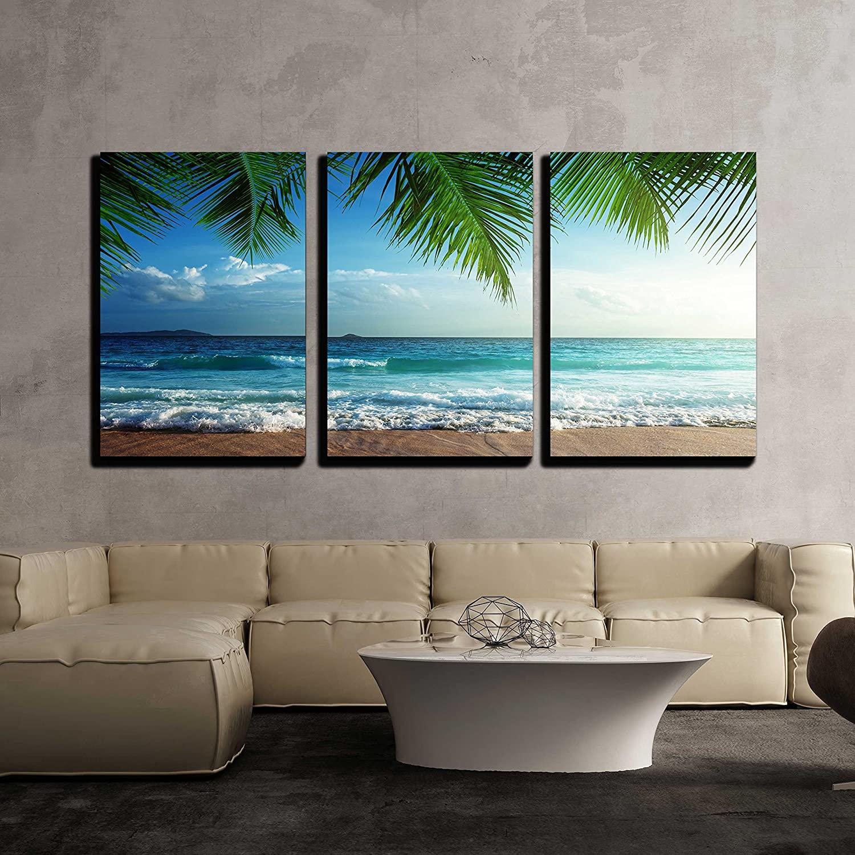 wall26 - Sunset on Seychelles Beach - Canvas Art Wall Art - 16