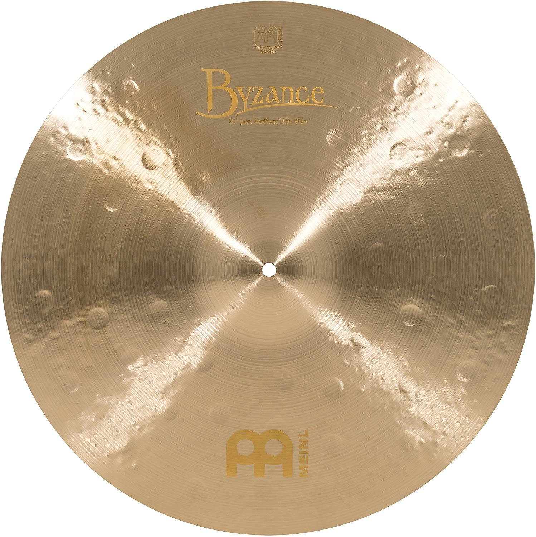 Meinl Cymbals B20JMTR Byzance 20-Inch Jazz Medium Thin Ride Cymbal (VIDEO)