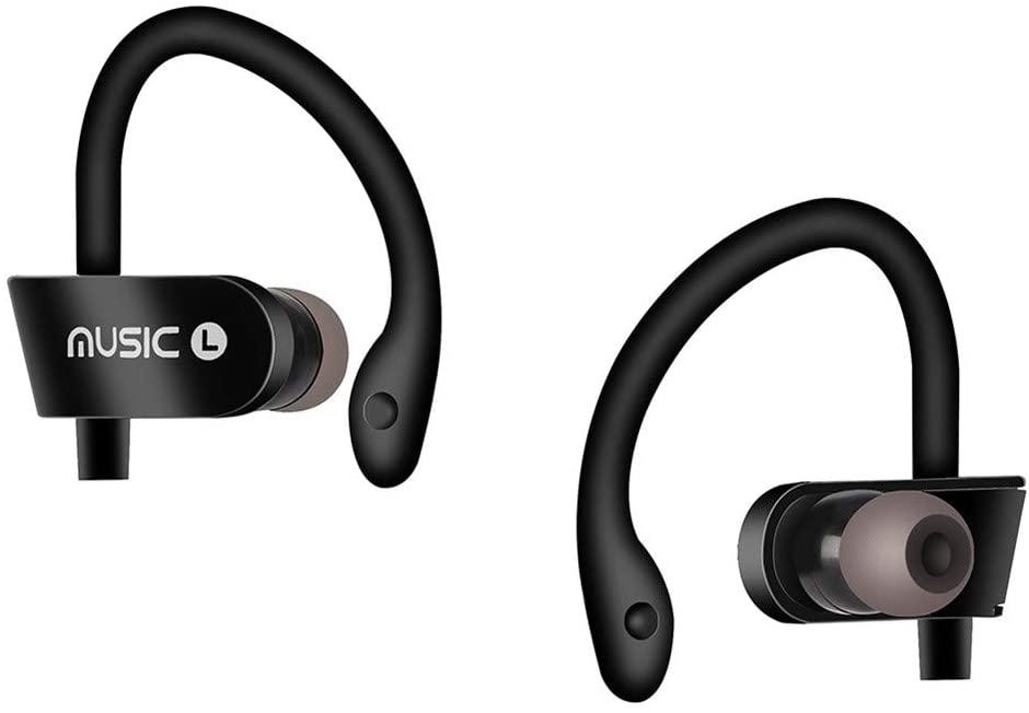 Fenleo Wireless Bluetooth Headset Headphones Sports Sweatproof Stereo Earbuds Earphone