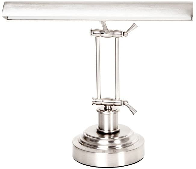 Cocoweb 14 LED Piano Desk Lamp with Dimmer - Satin Nickel