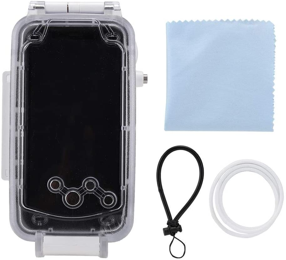 Accurate Waterproof Phone Case, Phone Cover, Mobile Phone Accessories for Daily Mobile Phone Protection(White)