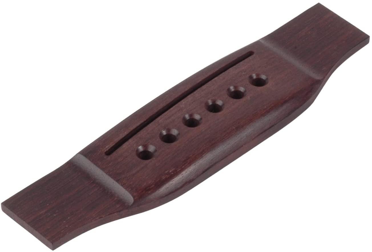 StewMac Acoustic Guitar Bridge, Standard, Indian Rosewood