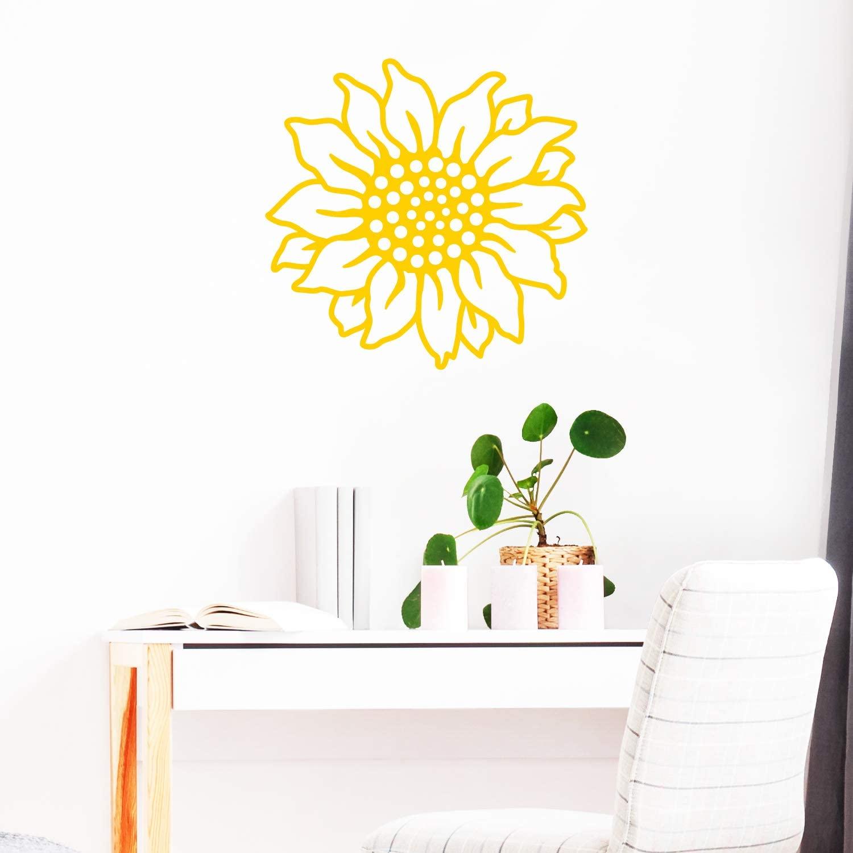 Vinyl Wall Art Decal - Sunflower - 22