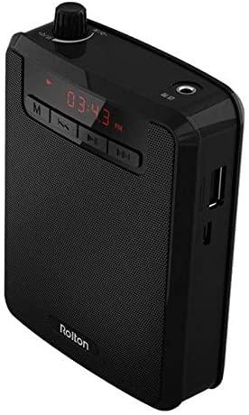 Rolton K300 Portable Voice Amplifier Teaching Microphone Waist Band Clip Rodalind
