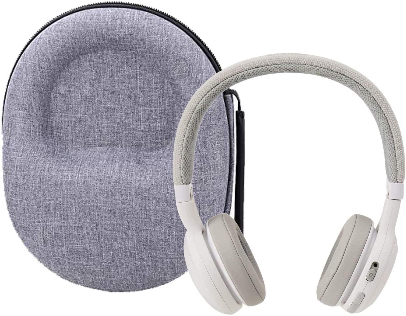 Hard Storage Case for JBL E45BT/E55BT On-Ear Wireless Headphones by Aenllosi(Gray)