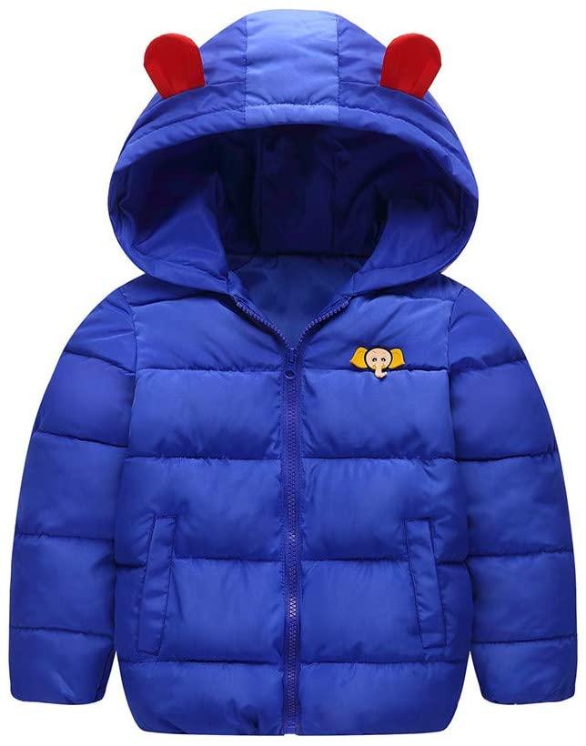 Lemoning Kids Baby Girl Boy Winter Hooded Coat Cloak Jacket Thick Warm Outerwear Clothes