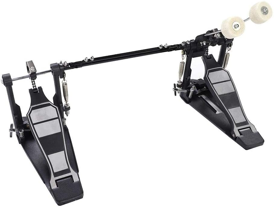 Drum Pedal, Heavy Double Bass Drums Foot Pedal Foot Kick Percussion Drum Set Accessories