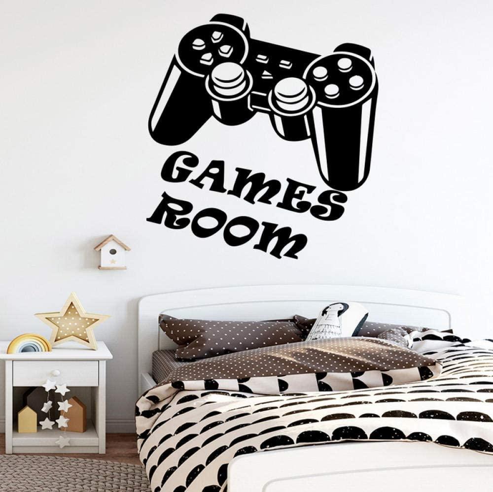 vwsitc Games Room Vinyl Wall Sticker Wallpaper Room Decoration Nursery Kids Room Bedroom Wall Decor Gaming Decals Poster 30X31Cm