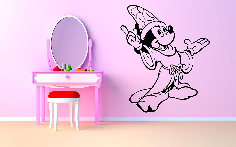 Wall Room Decor Art Vinyl Sticker Mural Decal Mouse Kids Cartoon Poster Bedroom Boy Girl Nursery AS1360