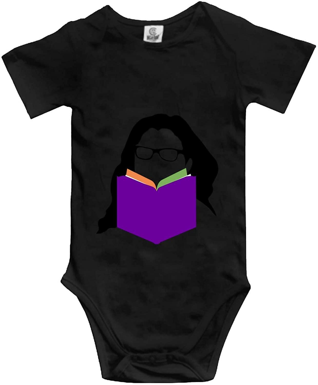 Reading Baby Boy Girl Onesie Newborn Organic Bodysuit Romper