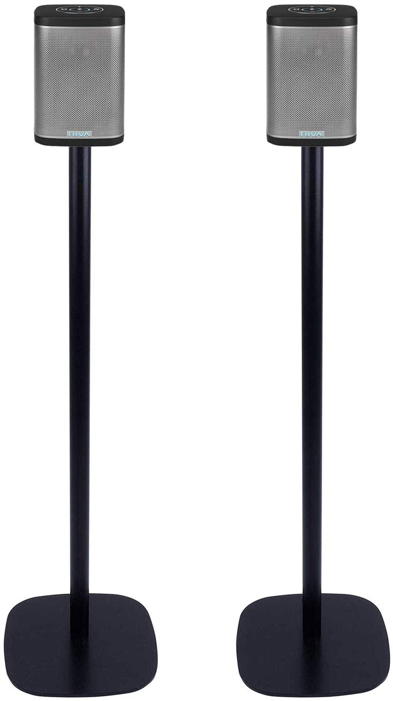 Vebos Floor Stand Riva Concert Black Set en Optimal Experience in Every Room - Allows You to Place Your Riva Concert Exactly Where You Want it - Compatible with Riva Concert