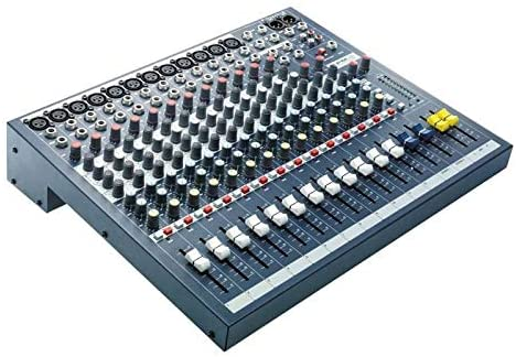 Soundcraft EPM12 12 Mono + 2 Stereo Audio Console with Free 1 Year EverythingMusic Extended Warranty