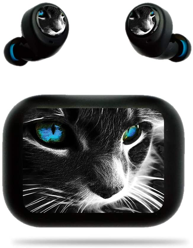 MightySkins Skin for DHgate Echo Buds - Cat   Protective, Durable, and Unique Vinyl Decal Wrap Cover   Easy to Apply, Remove, and Change Styles   Made in The USA