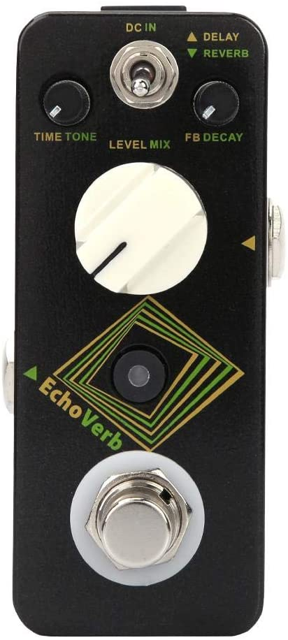Bnineteenteam 2 Modes Guitar Delay and Reverb Effect Pedal