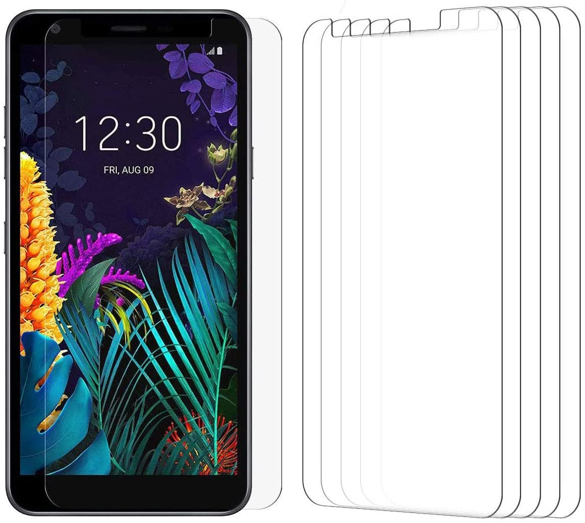 [5 Pack] Tonvizern Compatible for LG K30 2019 / LG Arena 2 / LG Escape Plus/LG Journey LTE/LG Tribute Royal High Definition Screen Protector Film [Not Glass]