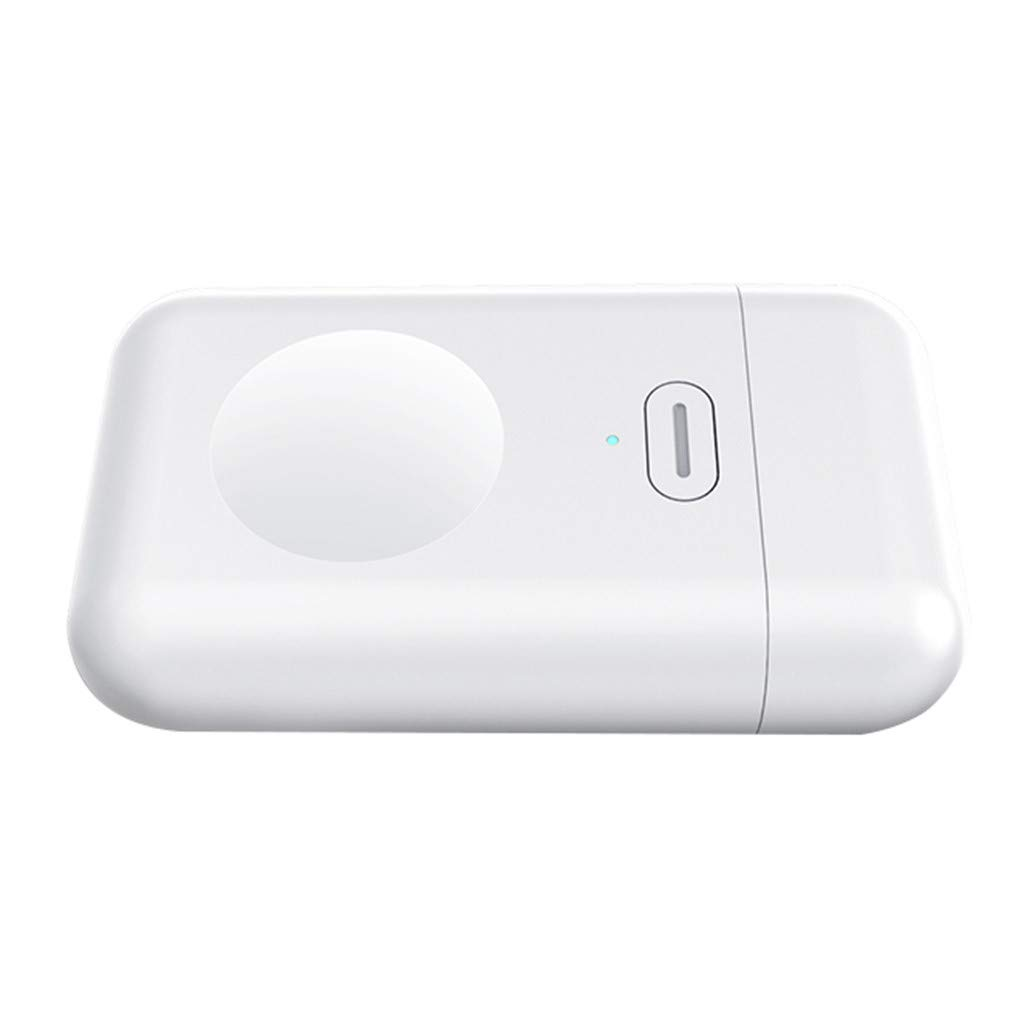 UMei Mini USB Fast Wireless Charger Watch Portable Compatible with Apple 1 2 3 4 Watch Charger