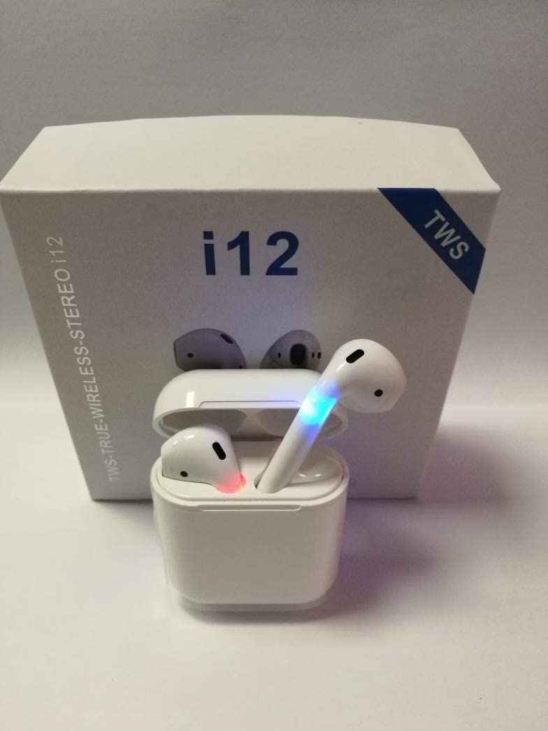 TWS i12 5.0 Bluetooth Earbuds for iOS, Android & Other Systems