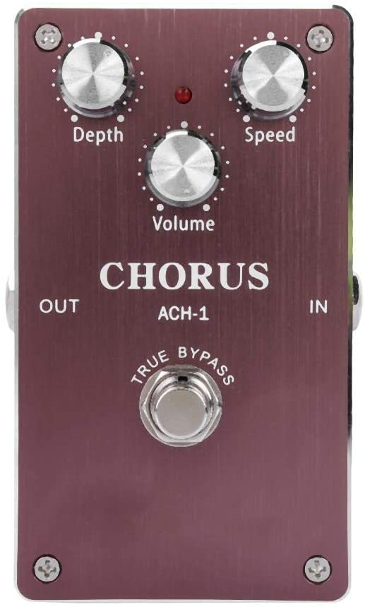 Mini Electric Guitar True Bypass Analog Chorus Effect Pedal for Electric Guitar Accessory