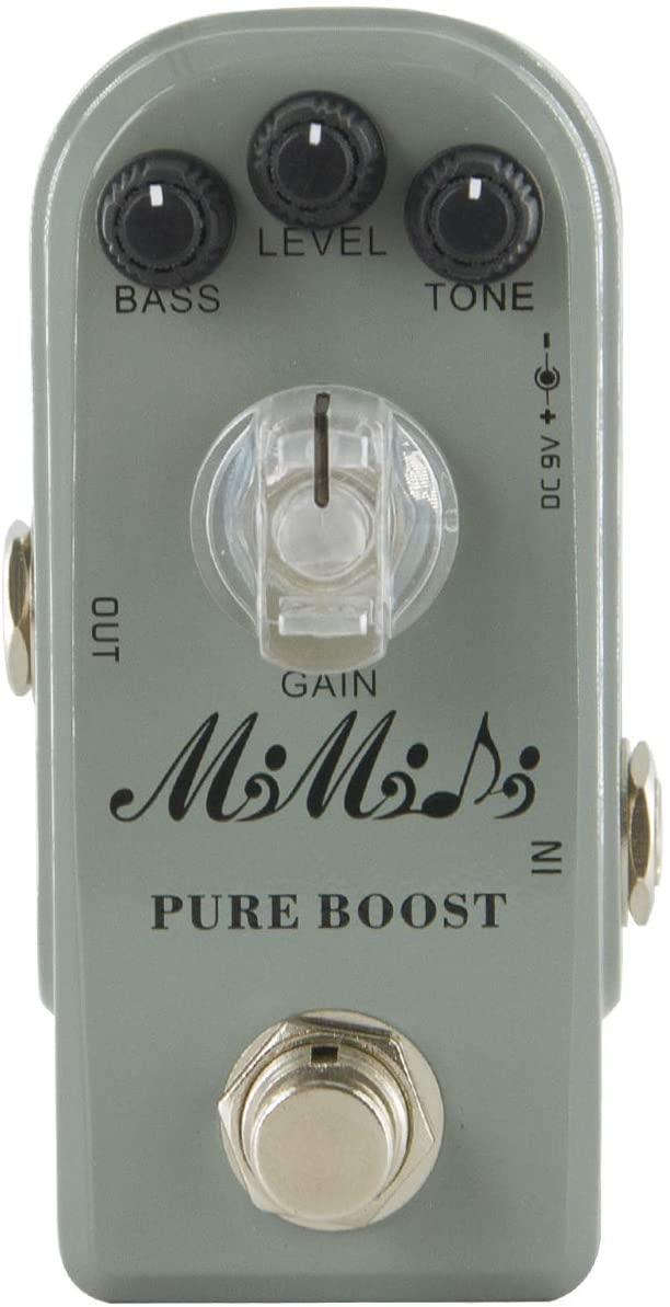 MIMIDI Pure Boost Guitar Effect, Super Mini Clear Boost Guitar Effect Pedal (304 Pure Boost)