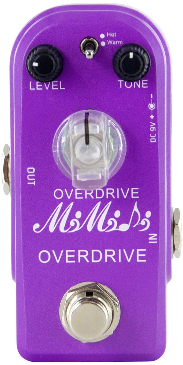 MIMIDI Guitar Overdrive Effect Pedal with True Bypass for Electronic Guitar(315 Overdrive)