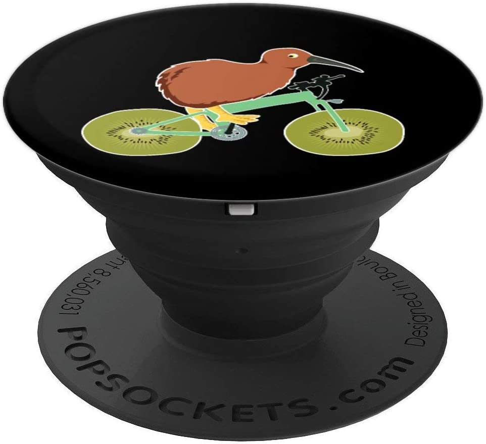 Funny Kiwi Grafik New Zealand Fruit and Bird PopSockets Grip and Stand for Phones and Tablets