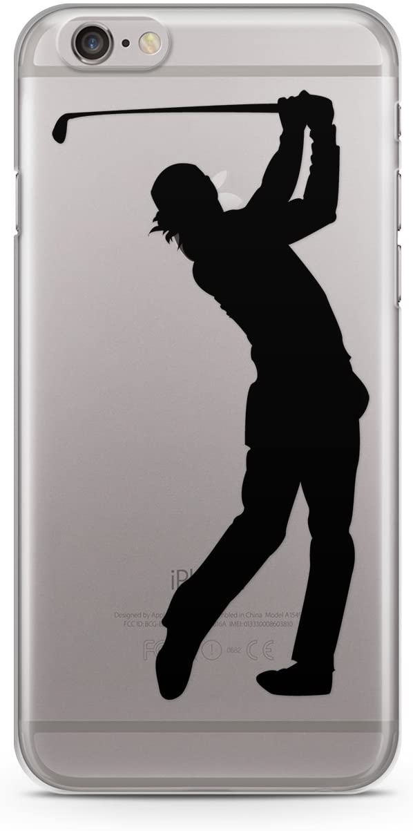 CodeiCases iPhone 7 Clear Golf Cover, Golf Case Clear Transparent for iPhone