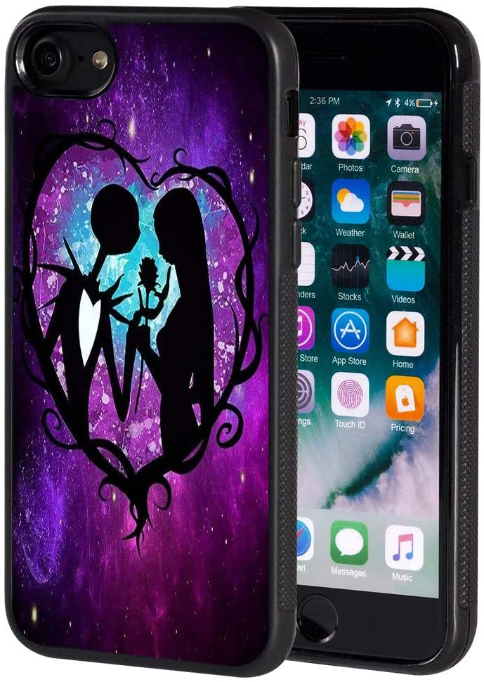 for iPhone 8 The Nightmare Before Christmas Pattern TPU for iPhone 8 (2017) / iPhone 7 (2016)
