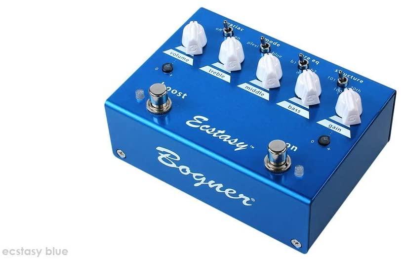 Bogner Ecstasy Blue Overdrive/Boost Guitar Effects Pedal