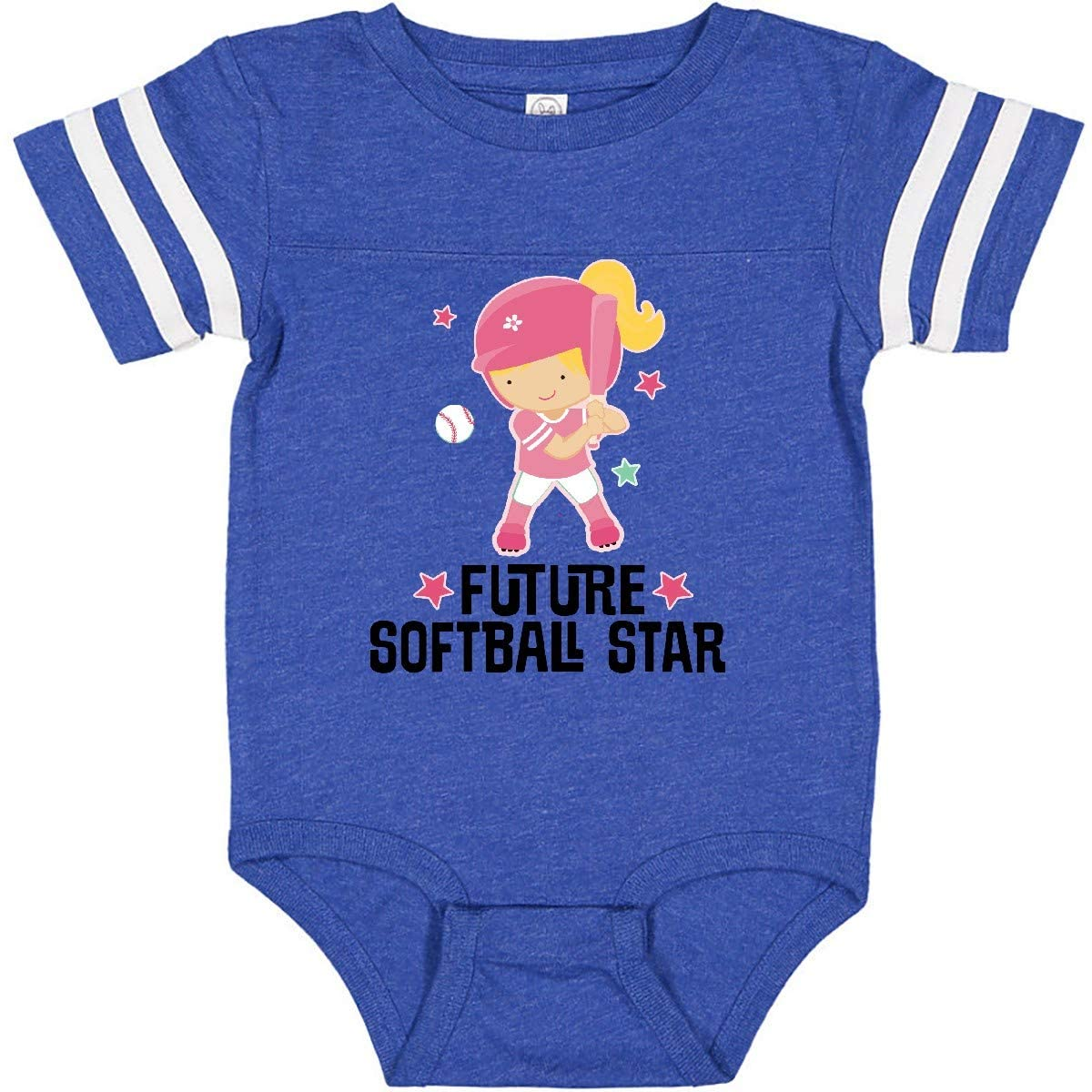 inktastic Future Softball Star Girl Infant Creeper