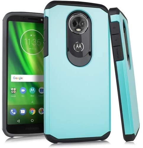 Motorola Moto E5 Plus Slim Case 2 Metallic Teal