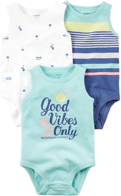 Carter's Baby Boys' Multi-pk Bodysuits 127g408