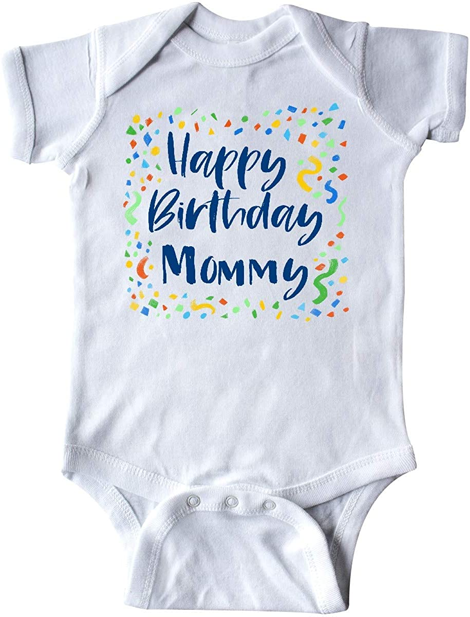 inktastic Happy Birthday Mommy Infant Creeper