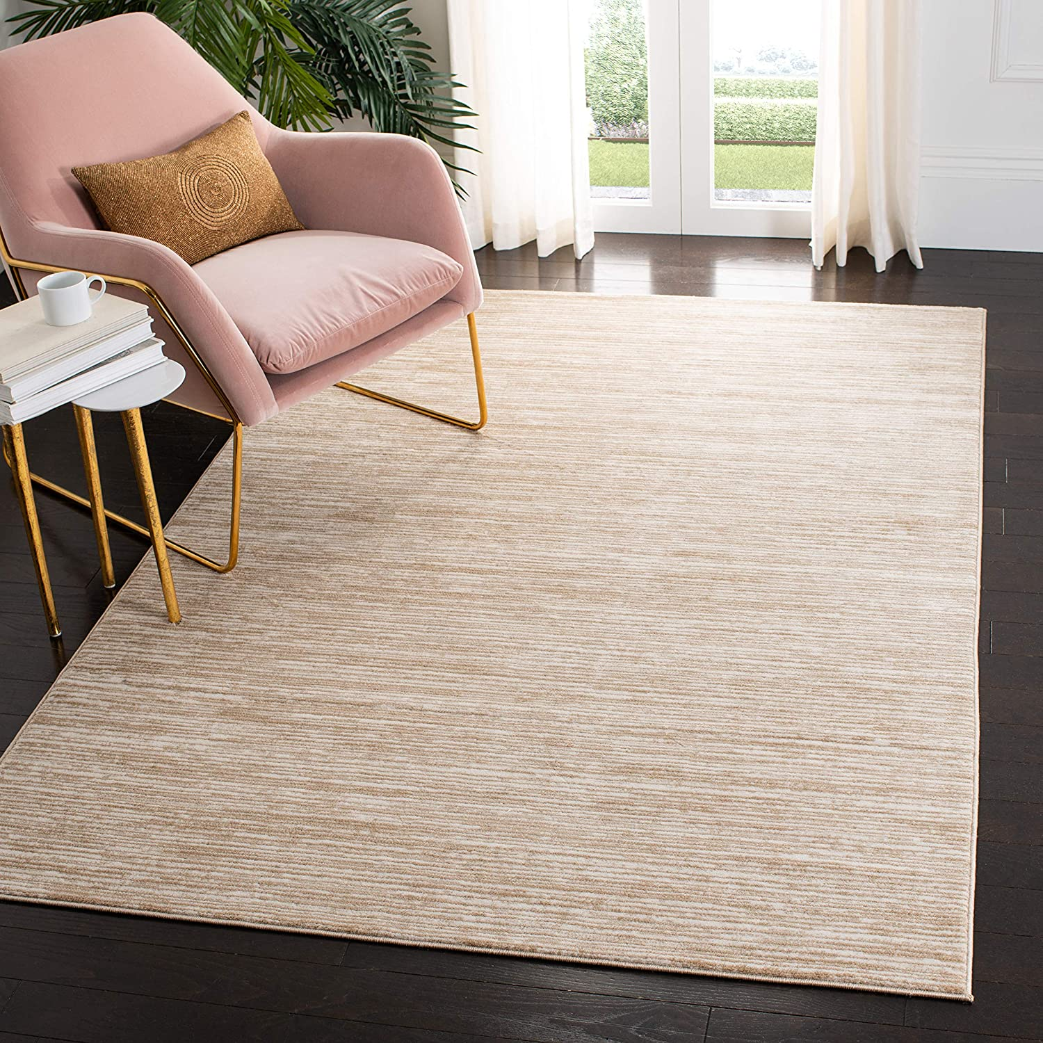 Safavieh Vision Collection VSN606F Modern Contemporary Ombre Tonal Chic Area Rug, 2' 2