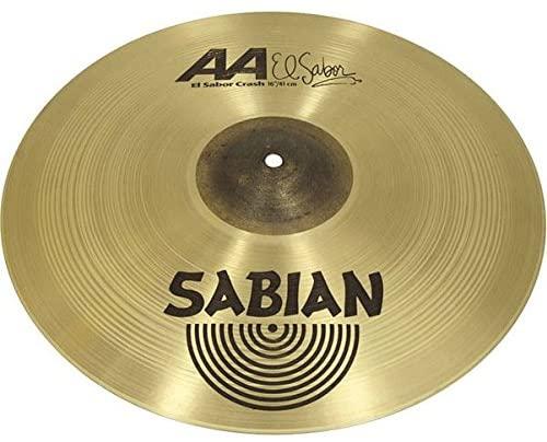 Sabian 16-Inch AA Series El Sabor Crash Cymbal Brilliant Finish