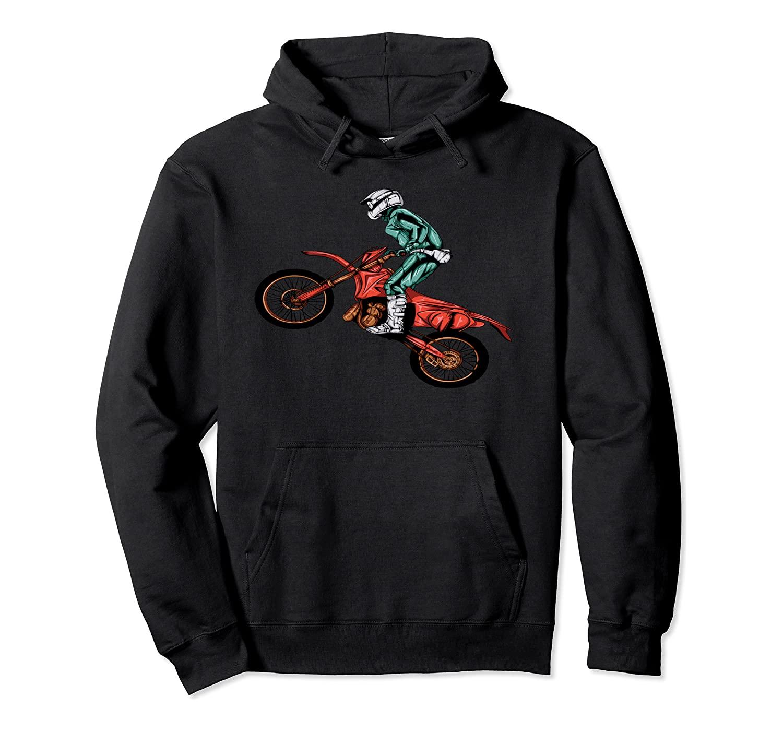 BMX Sport Bike Gift Ideas For Boys Pullover Hoodie