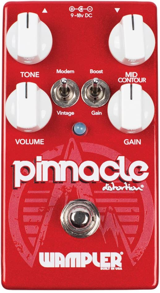 Wampler Pinnacle Standard V2 Distortion Guitar Effects Pedal